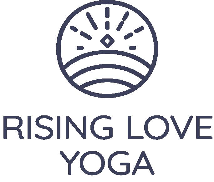 Rising Love Yoga Logo